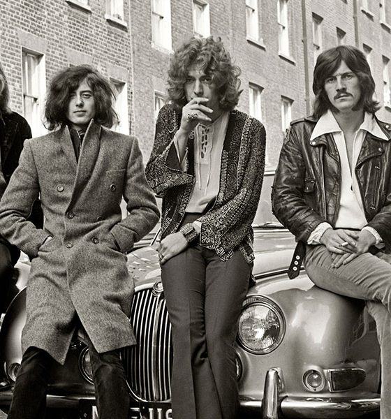 Led Zeppelin photo by Fin Costello and Redferns