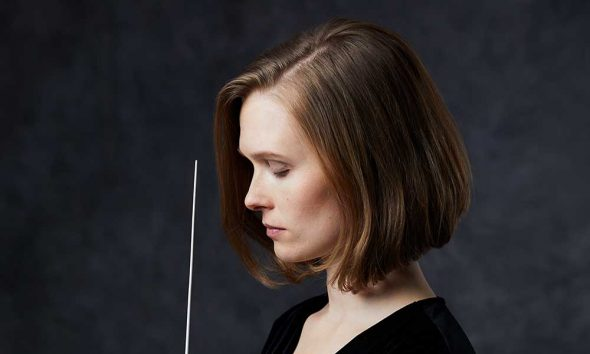 Photo of conductor Mirga Grazinyte-Tyla