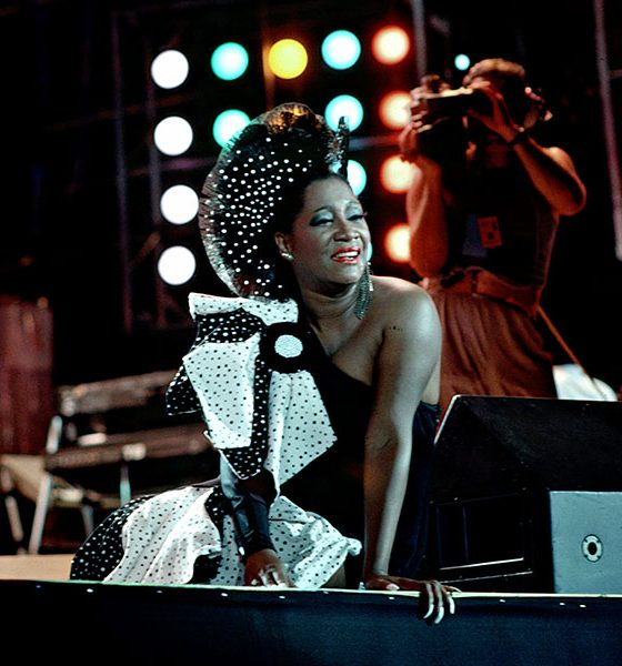 Patti LaBelle performing at Live Aid