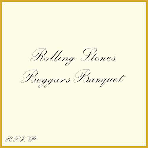 The Rolling Stones - Beggars Banquet cover