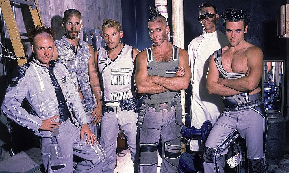 Rammstein photo by Mick Hutson and Redferns