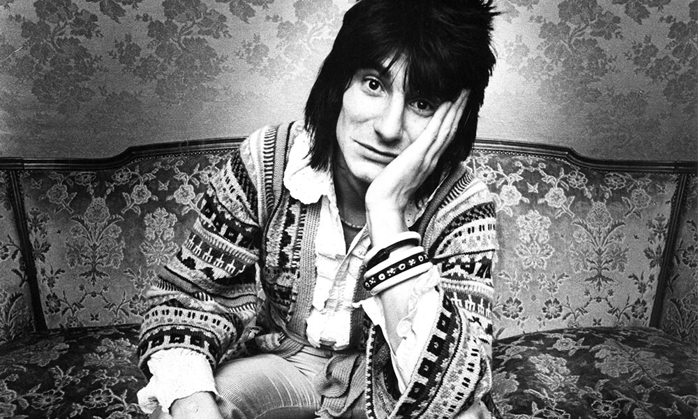 Ronnie Wood photo by Gijsbert Hanekroot/Redferns