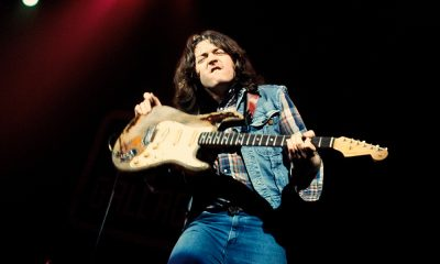Rory Gallagher photo by Fin Costello/Redferns