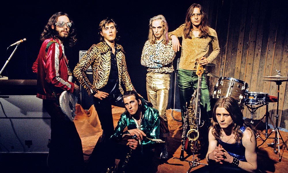 Roxy Music photo by Brian Cooke and Redferns