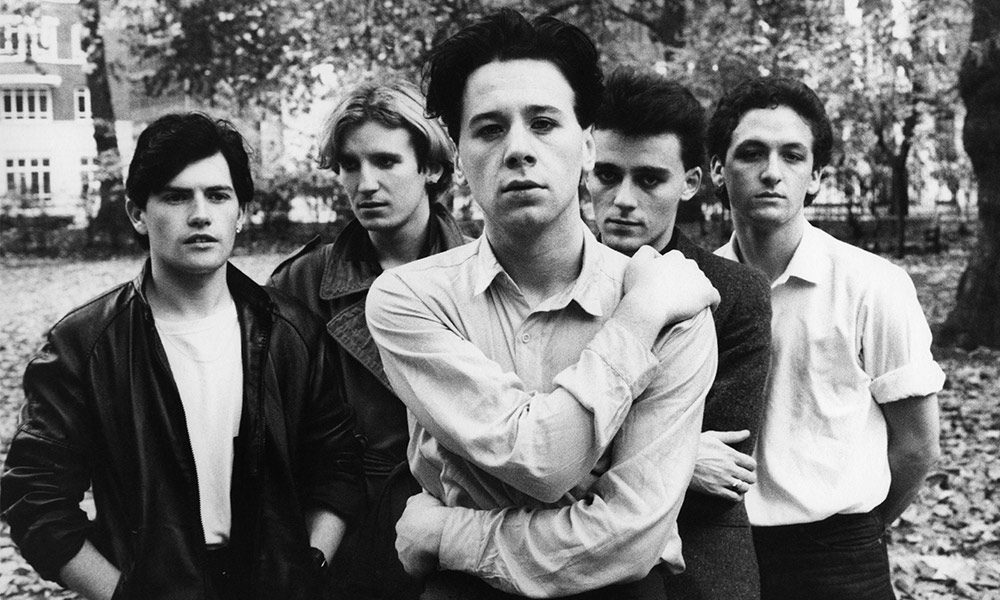 Simple Minds photo by Virginia Turbett and Redferns