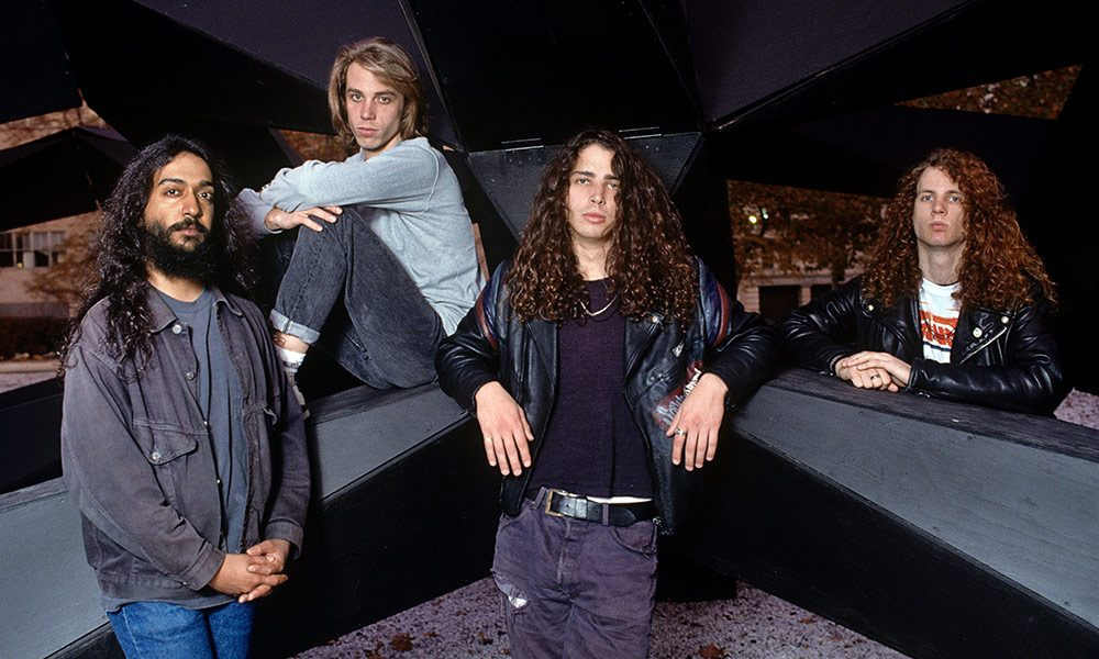 Soundgarden photo by Krasner and Trebitz and Redferns