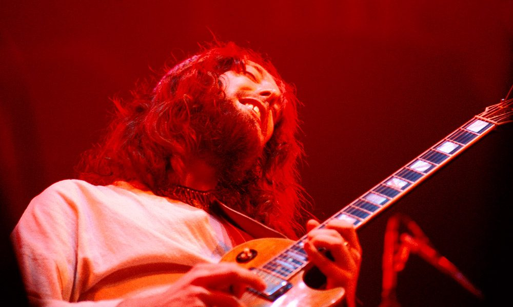 Steve Hillage photo by Richard E. Aaron and Redferns