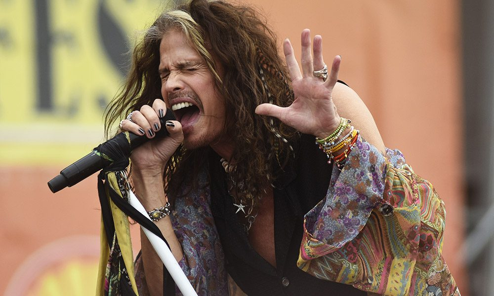 Steven Tyler photo by Tim Mosenfelder and WireImage