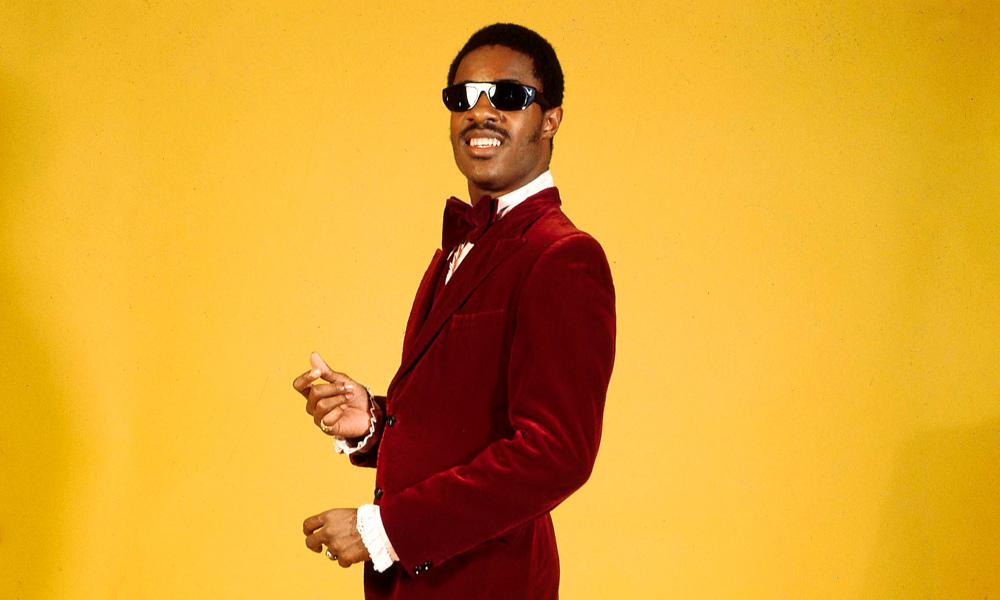 Stevie Wonder photo by RB and Redferns