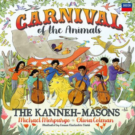 The Kanneh-Masons Carnival album cover
