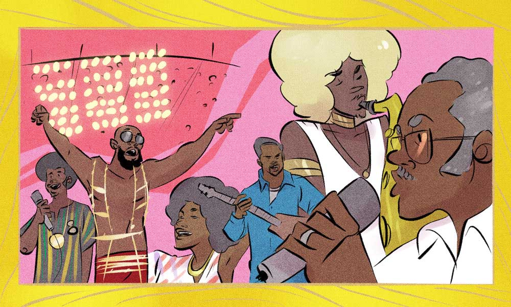 Wattstax Illustration by Sean Mack