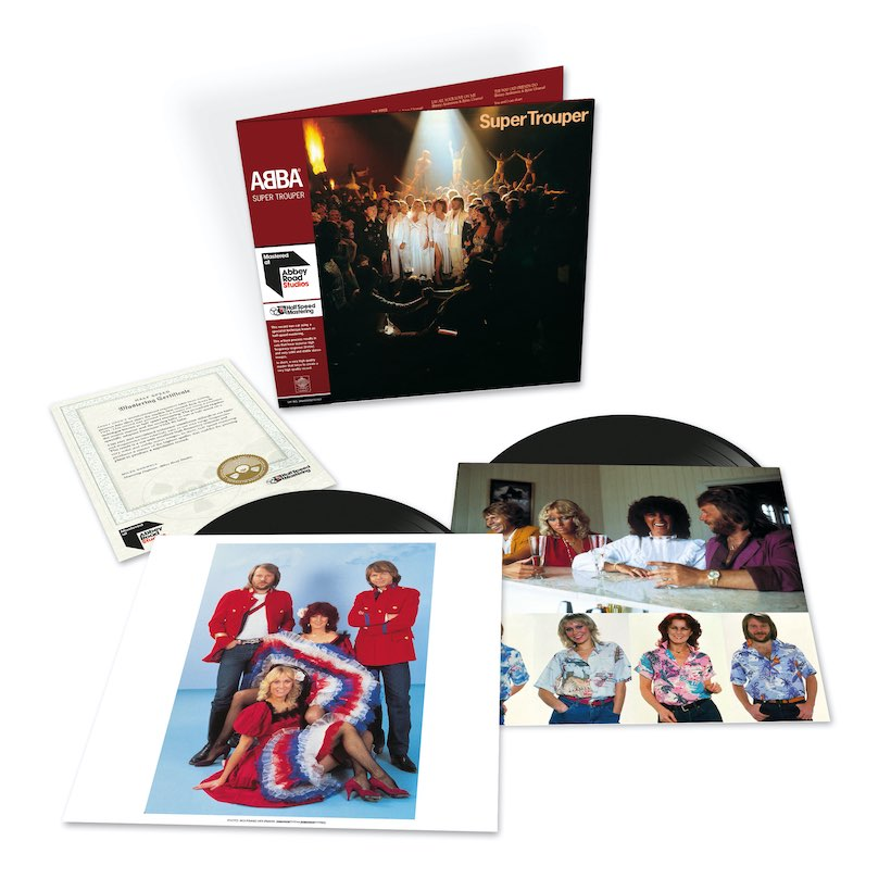 ABBA Super Trouper 2 LP