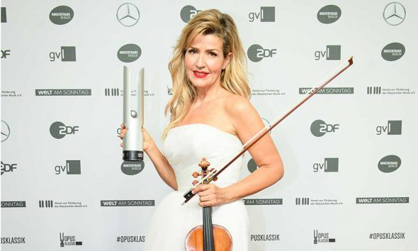 Anne-Sophie Mutter Opus Klassik Awards photo
