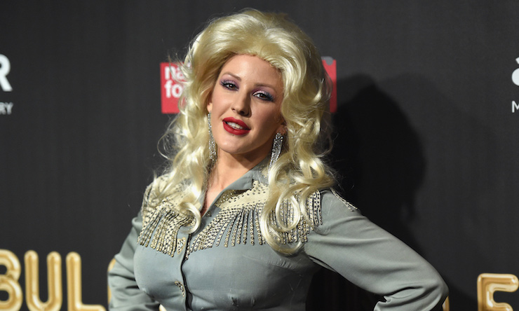 Ellie Goulding Dolly Parton costume