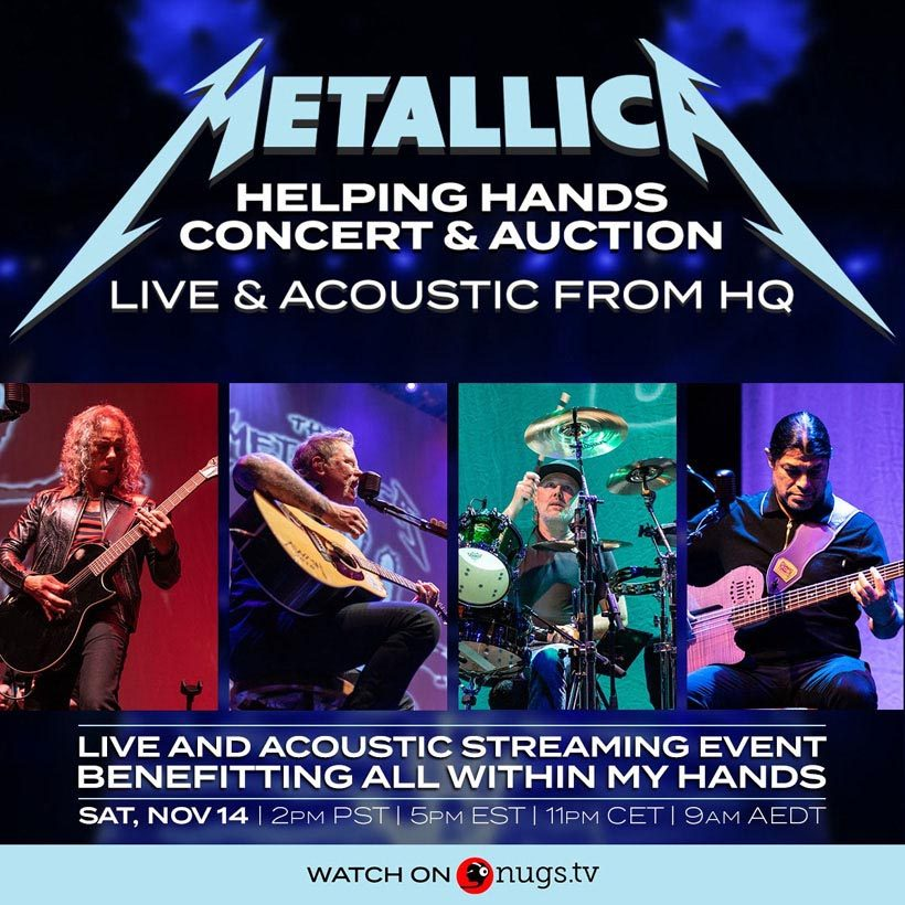 Metallica-Live-Acoustic-HQ-Streaming