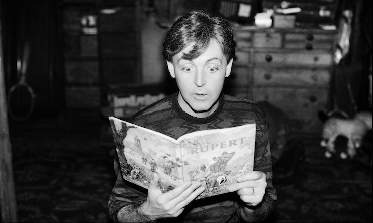 Paul McCartney Rupert Annual
