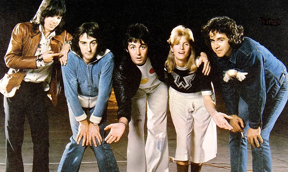 Paul McCartney And Wings Photo By GAB Archive And Redferns