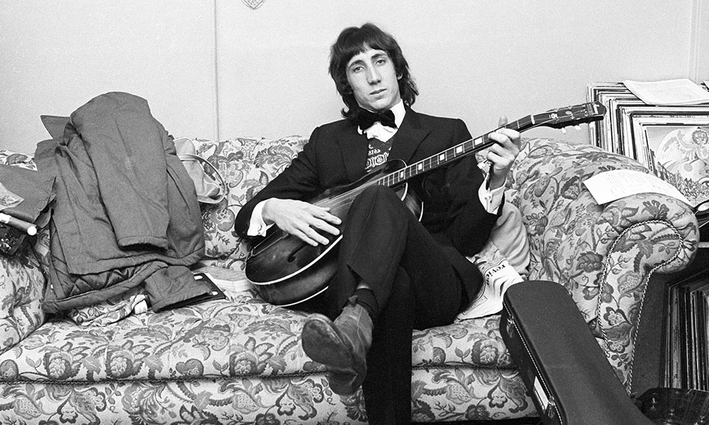 Pete Townshend photo by Chris Morphet/Redferns