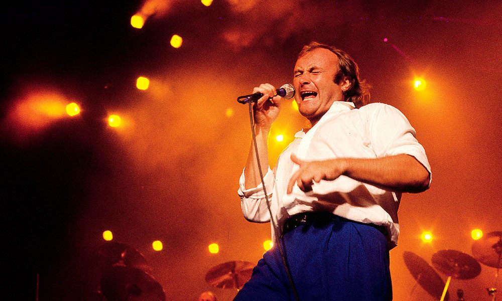 Phil Collins photo by Bob King and Redferns