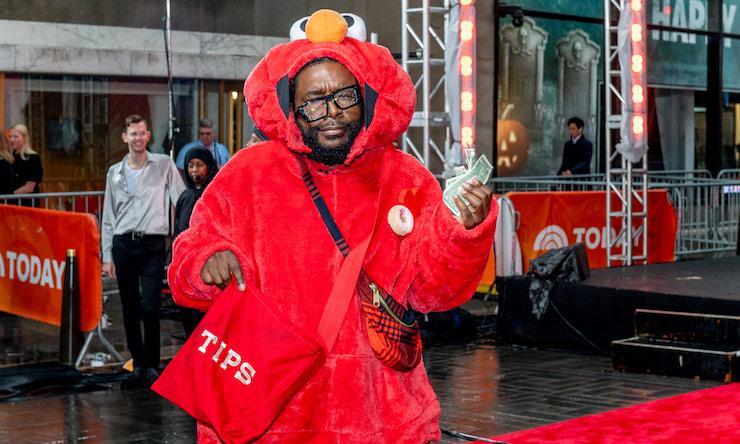 Questlove Elmo Costume
