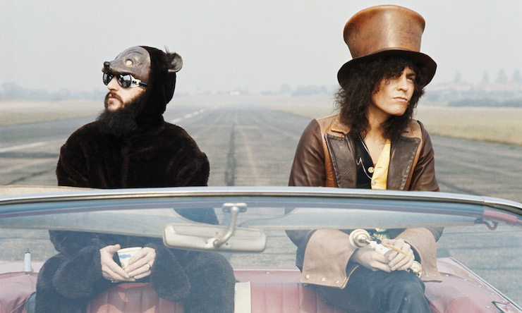 Ringo Starr and Marc Bolan Born To Boogie