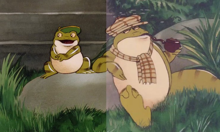 Rupert Frog Song restoration