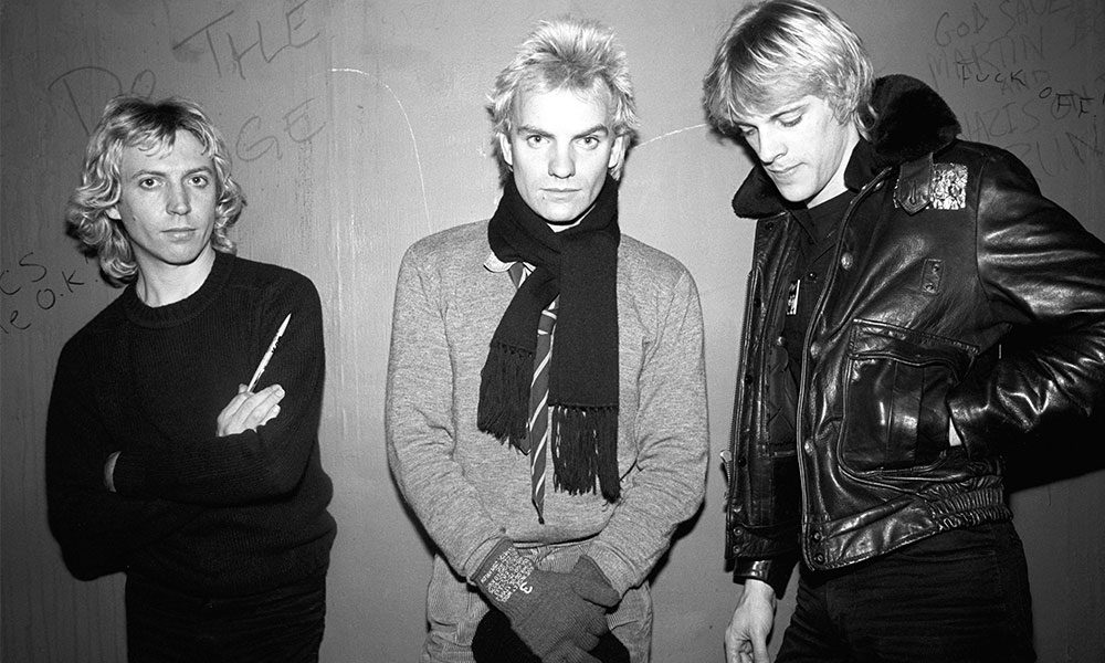 The Police photo by Peter Noble and Redferns