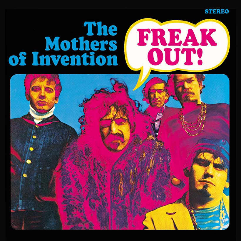 the Mothers of Invention Frank Zappa Freak Out Album Cover