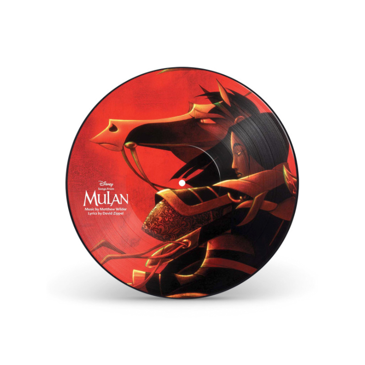 Songs From Mulan Picture Disc Gift