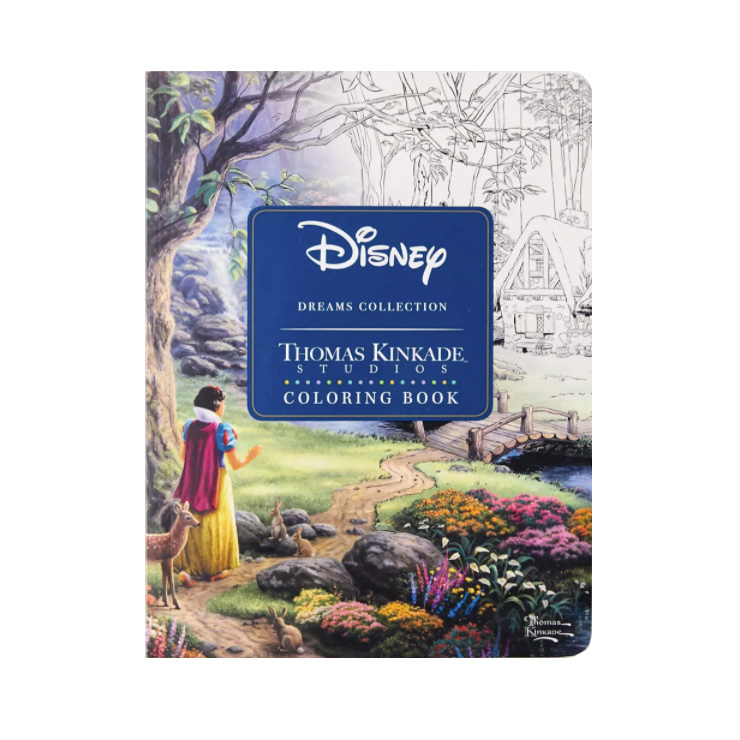 Disney Dreams Collection Thomas Kinkade Studios Coloring Book By Thomas Kinkade