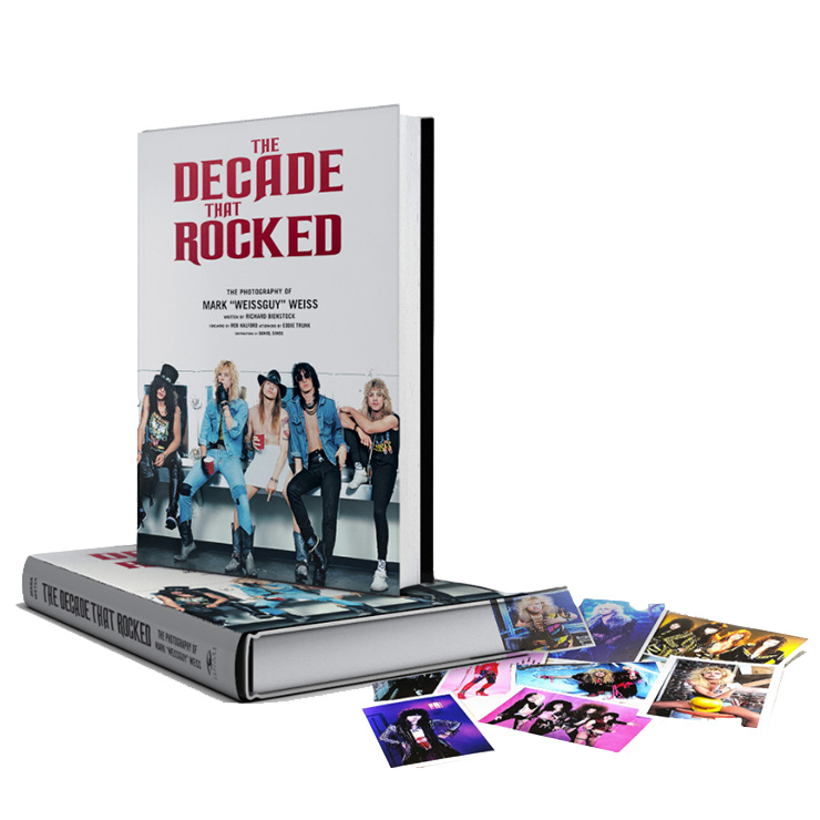 'The Decade That Rocked: The Photography of Mark 'Weissguy' Weiss' book