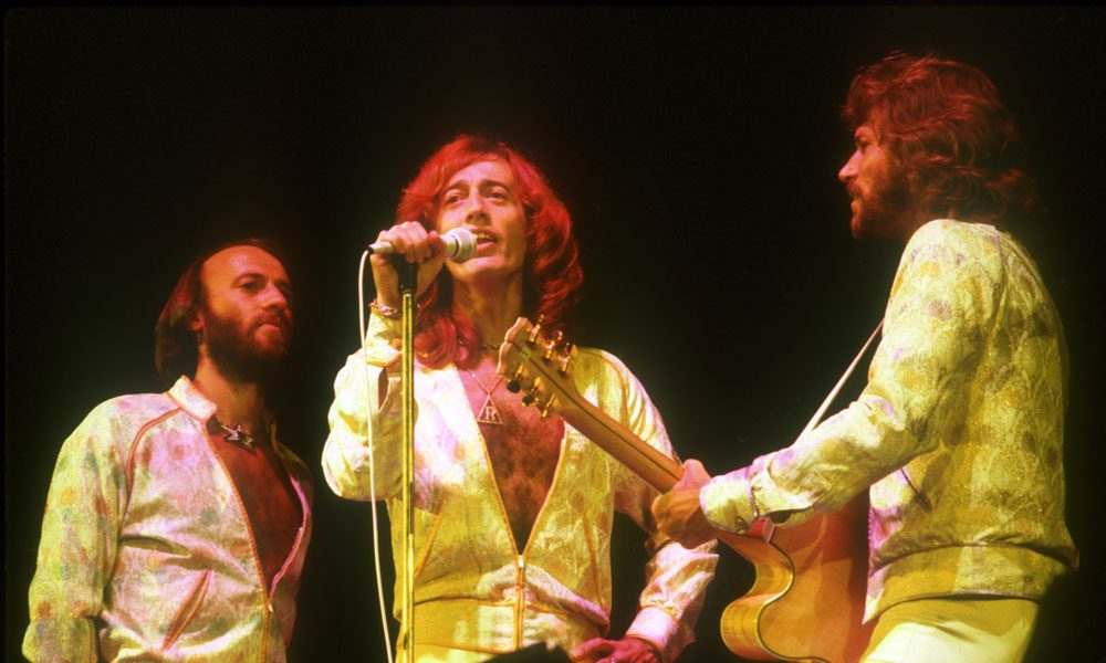 Bee Gees photo by Michael Ochs Archives and Getty Images
