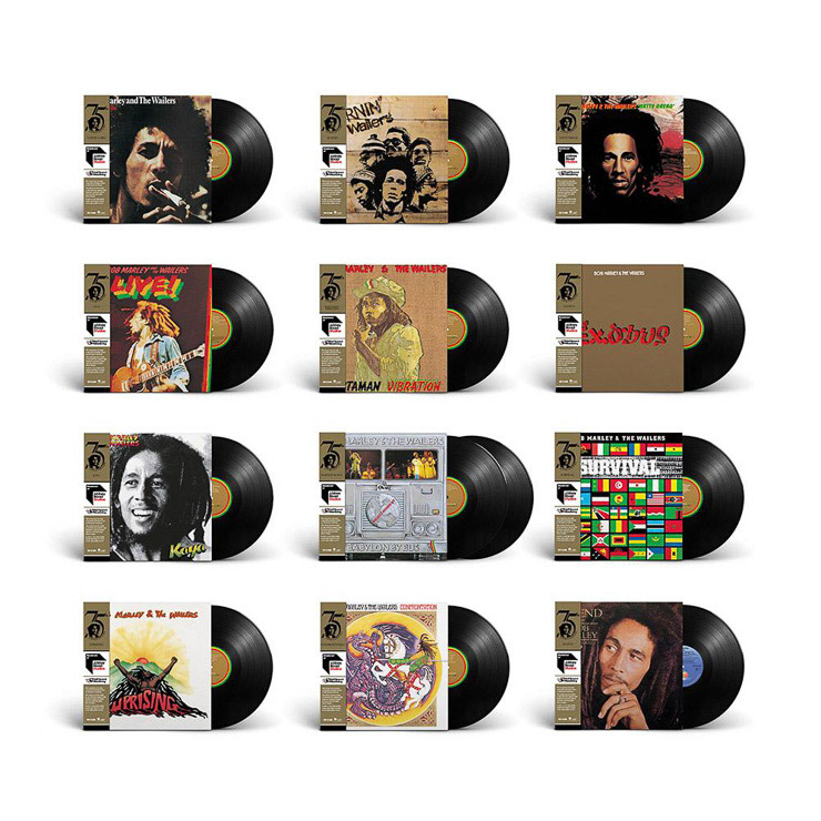 Bob Marley & The Wailers: Limited Edition Half-Speed Bundle