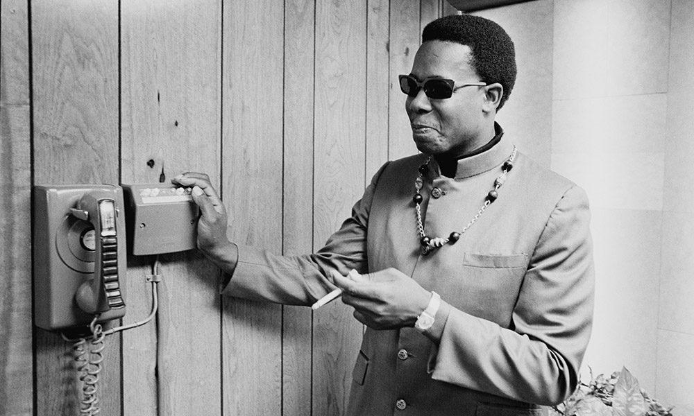 Stax Records Artist Eddie Floyd in 1968