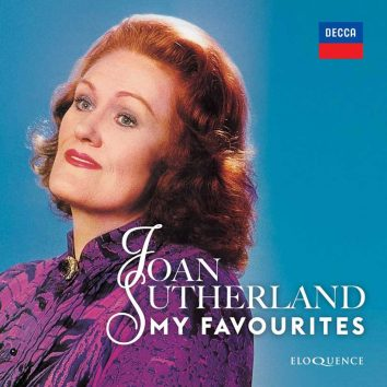 Joan Sutherland My Favourites album cover