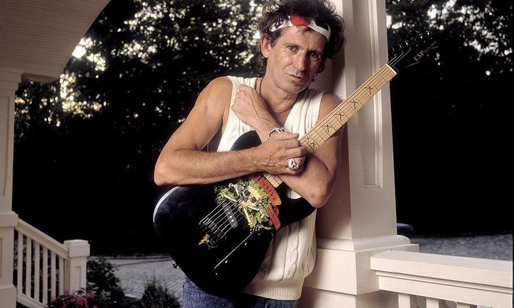 Keith Richards photo by Paul Natkin and WireImage