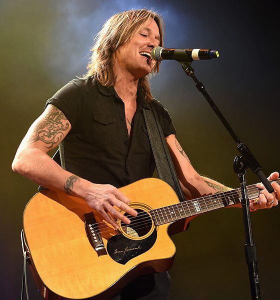 Keith Urban photo by Jason Kempin and Getty Images for St. Jude