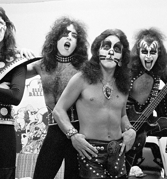 Kiss photo by Tom Hill and WireImage