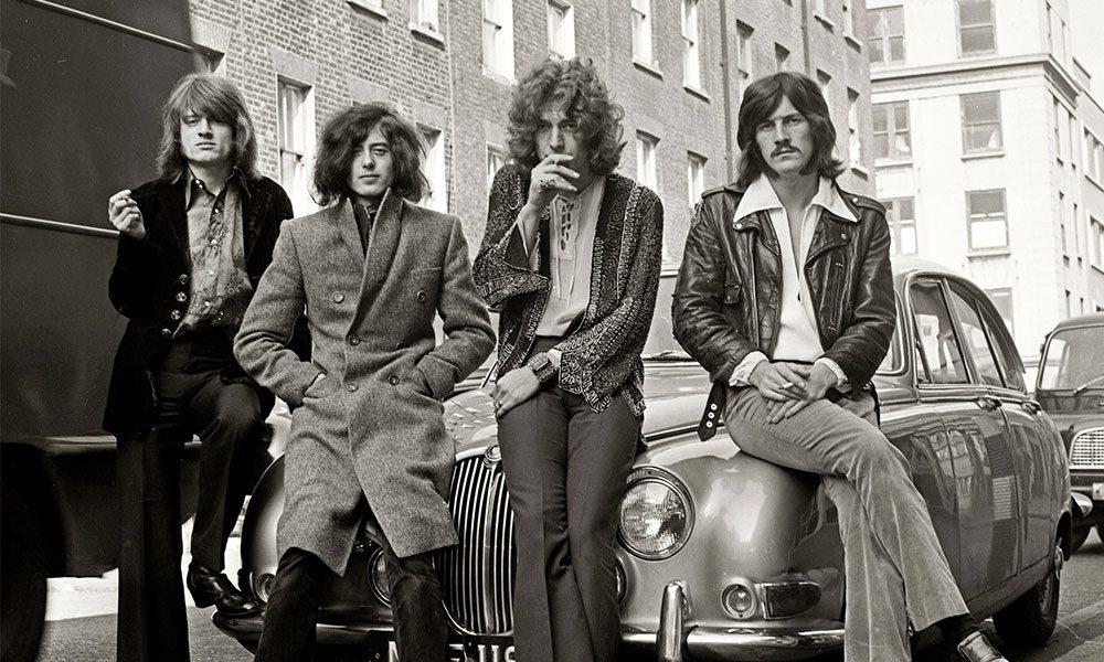 Led Zeppelin photo by Dick Barnatt and Redferns