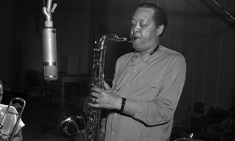 Lester Young photo by PoPsie Randolph and Michael Ochs Archives and Getty Images