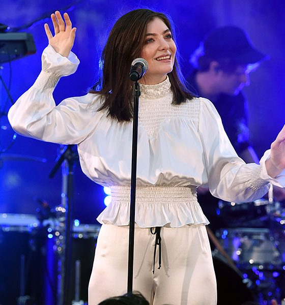 Lorde photo by Kevin Winter and Getty Images