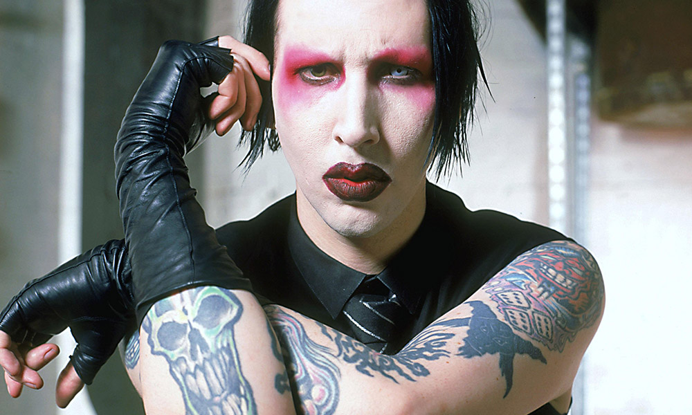 Marilyn Manson photo by Mick Hutson and Redferns