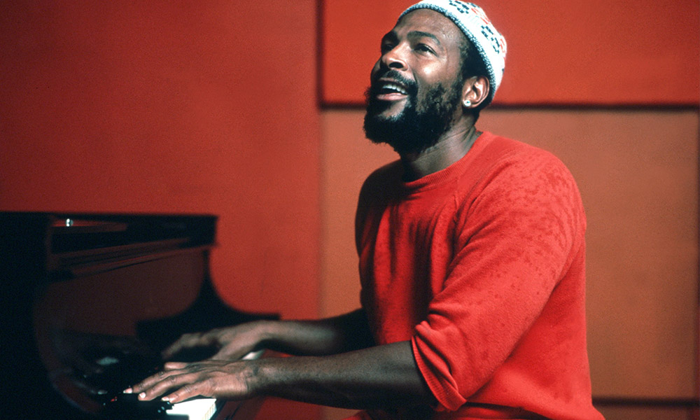 Marvin Gaye photo by Jim Britt/Michael Ochs Archives and Getty Images