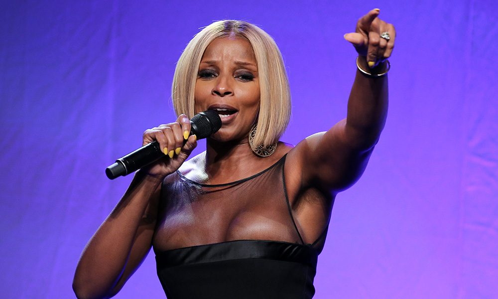 May J Blige photo by Neilson Barnard and Getty Images