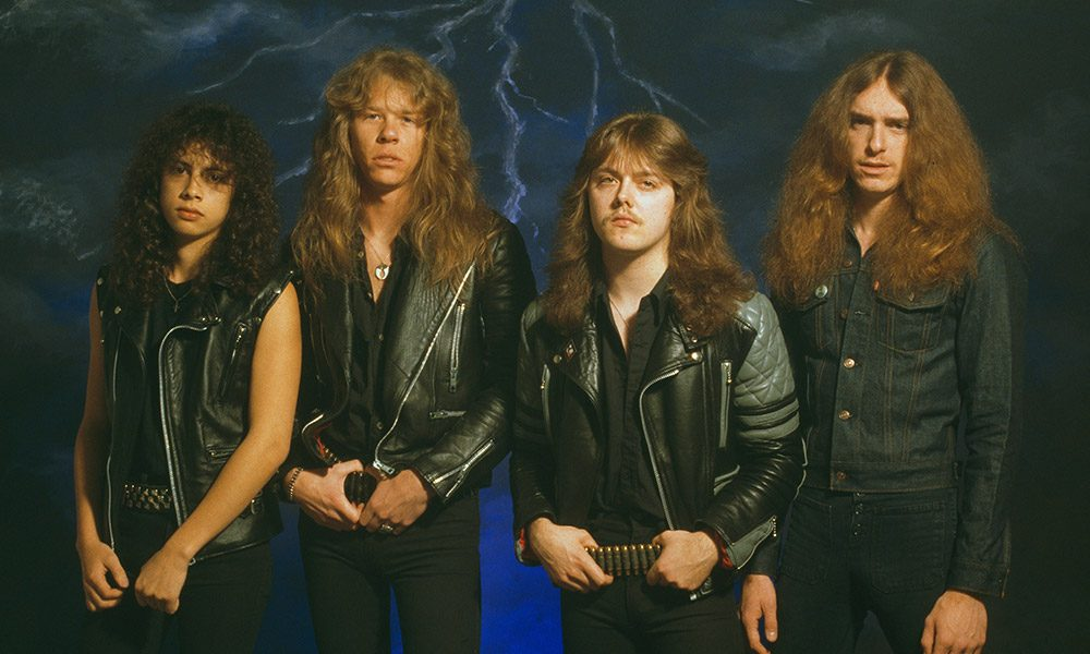 Metallica songs by Fin Costello and Redferns and Getty Images