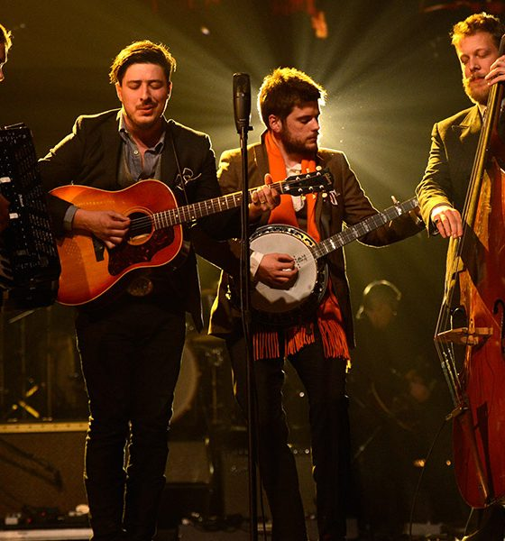 Mumford & Sons photo by Kevin Mazur and WireImage
