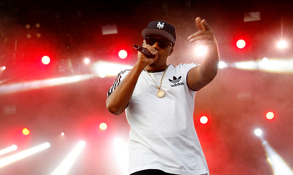 Nas photo by Jackie Butler and Getty Images