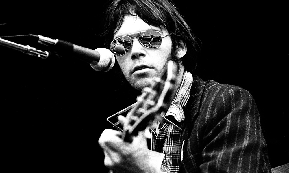 Neil Young photo by Gijsbert Hanekroot/Redferns