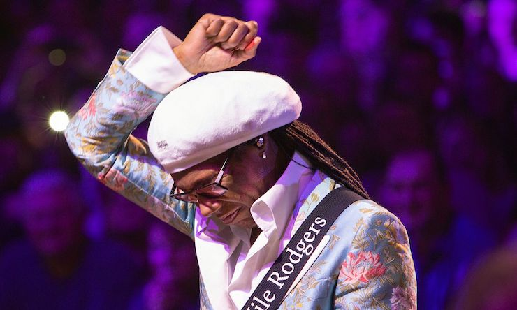 Nile Rodgers credit American Express presents BST Hyde Park