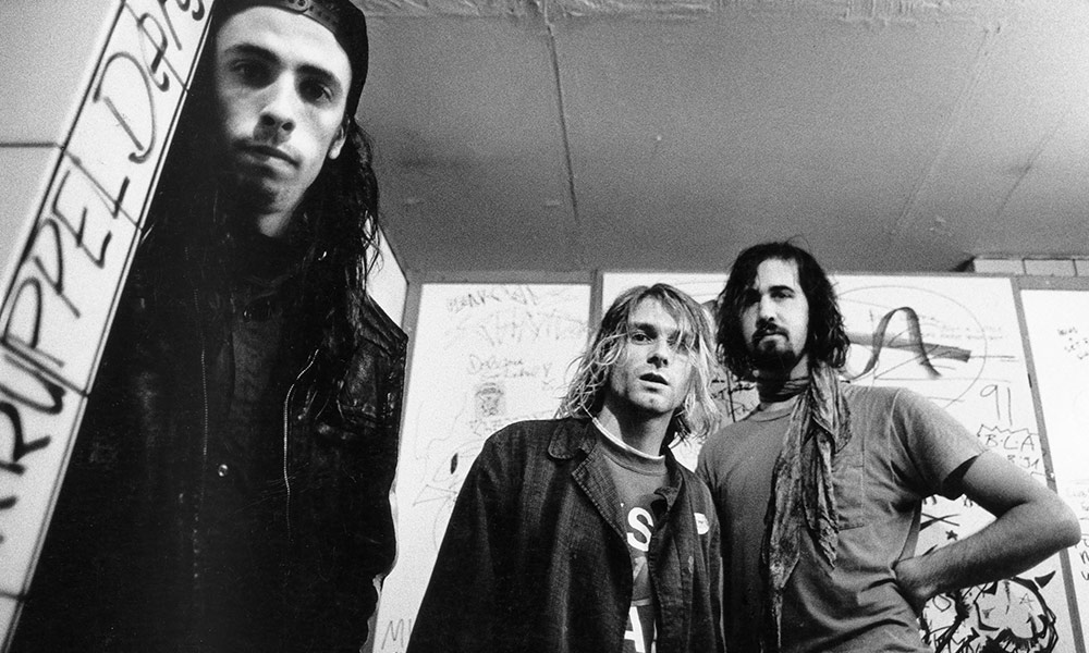 Nirvana photo by Paul Bergen/Redferns